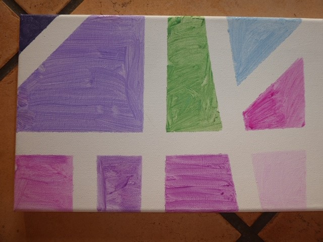 Cassandra finished painting