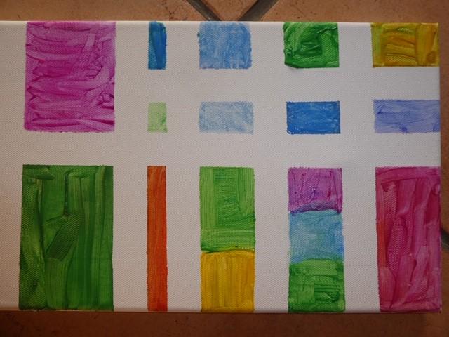 Jeremiah Finished painting